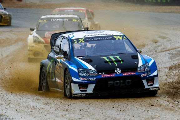 RallyX: Johan Kristoffersson jagar VM-titeln i rallycross. I helgen tävlar han i Lohéac