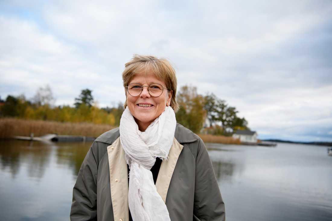 Ingrid Carlberg är nyinvald ledamot i Svenska Akademien.