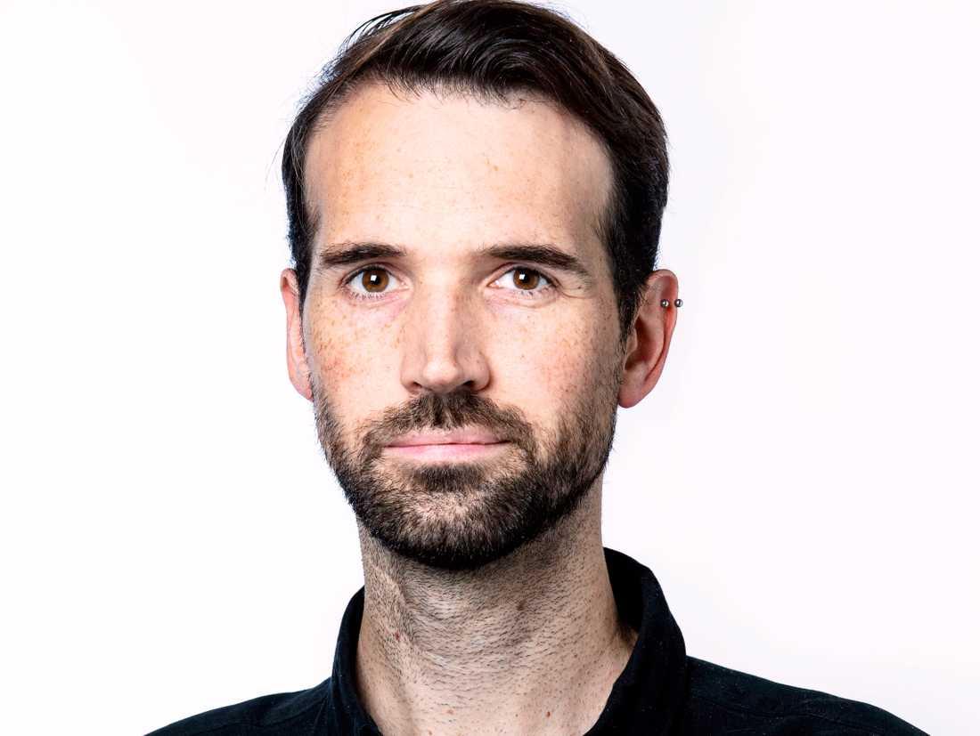 Andreas Landmark, redaktionell videochef på Aftonbladet.