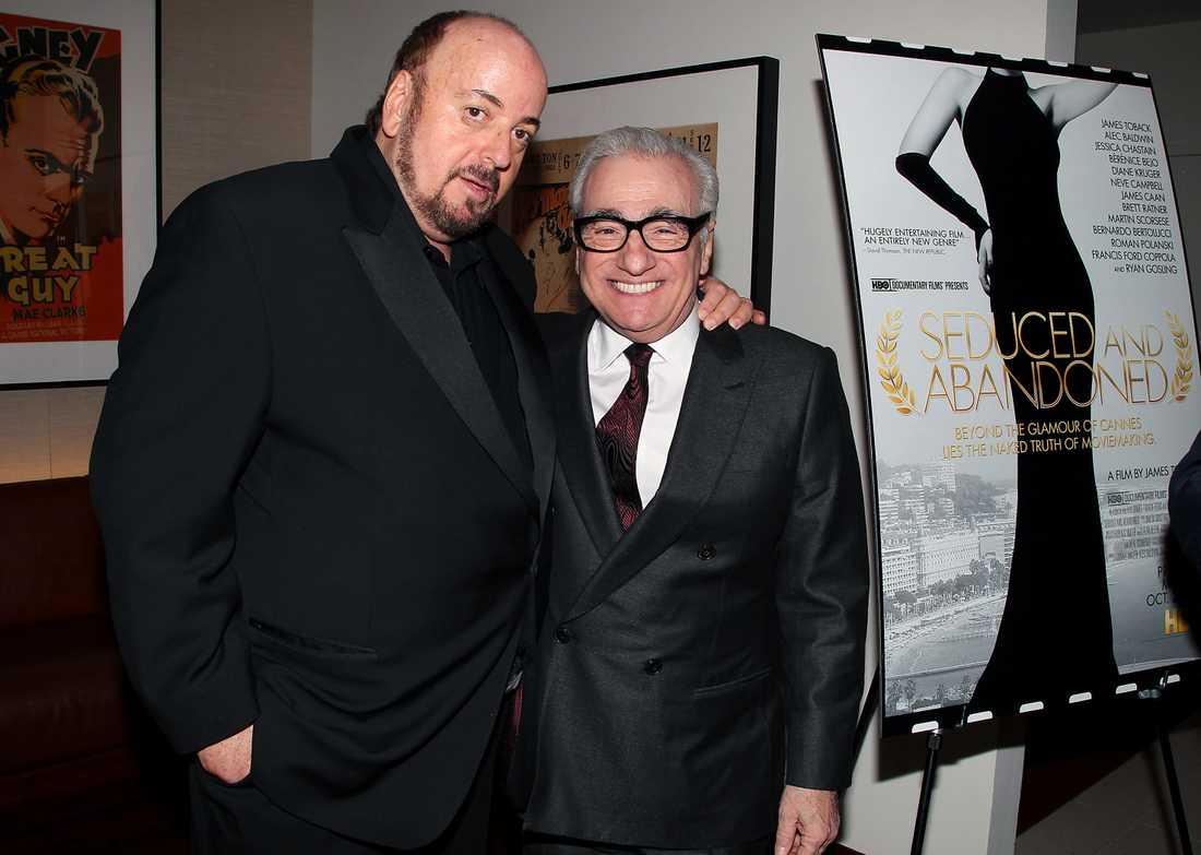 James Toback tillsammans med Martin Scorsese.