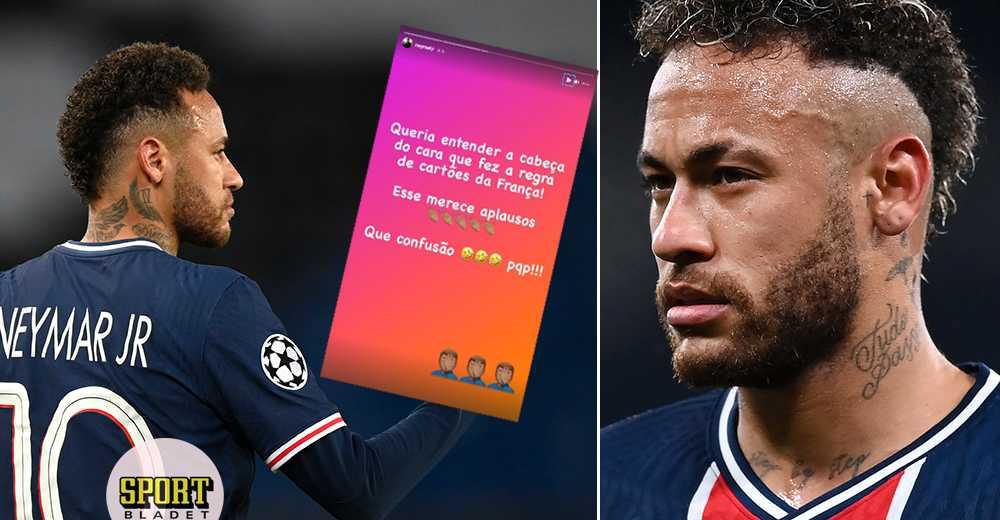 """Neymar rasar mot avstängningen: """"Var personligt"""""""