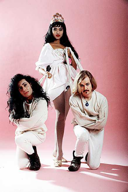 Back in the days Army of Lovers med Jean-Pierre Barda, Camilla Henemark och Alexander Bard.