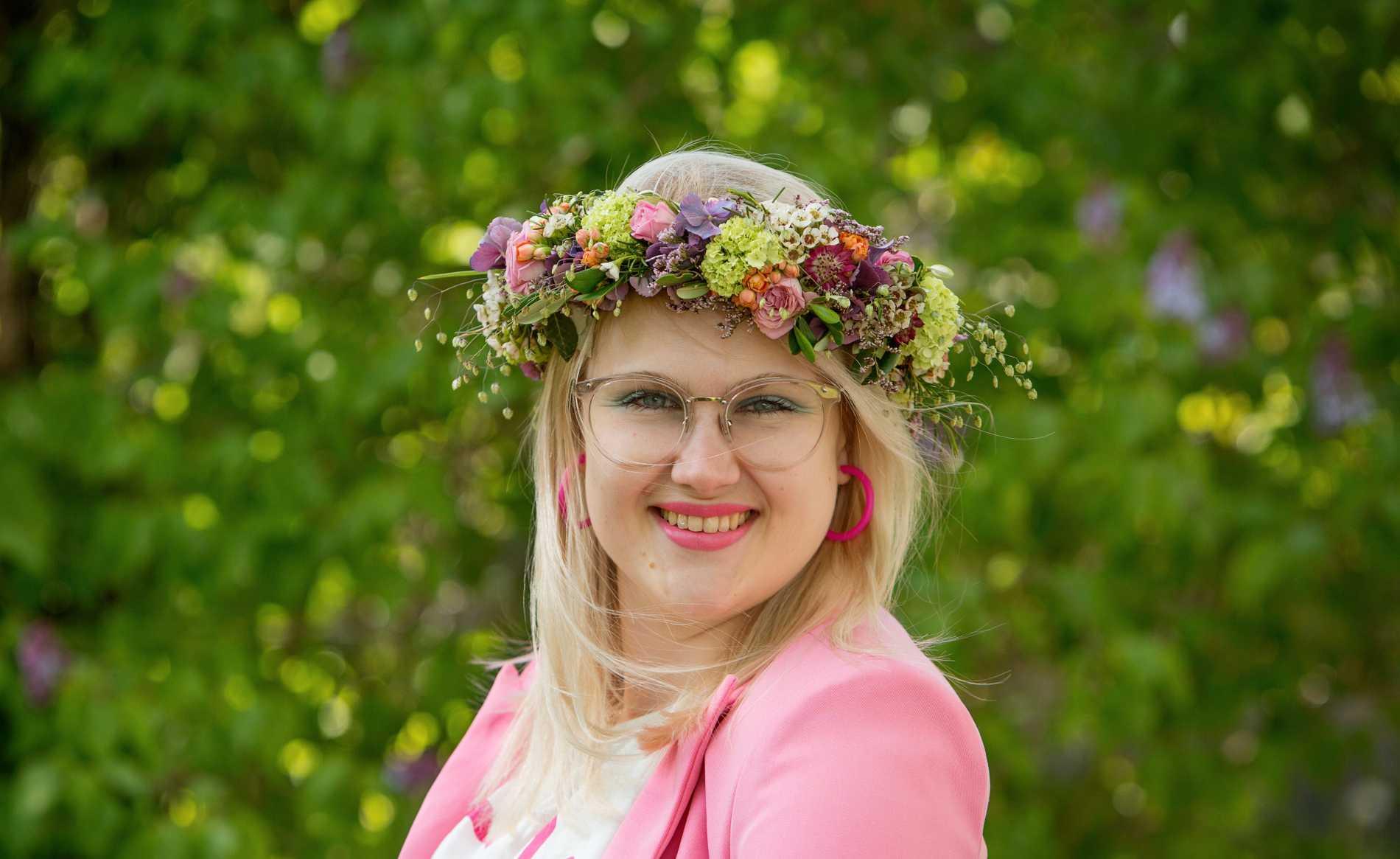 """Emma Örtlund från Glada Hudikteaterns """"Catwalk"""" sommarpratar i dag."""