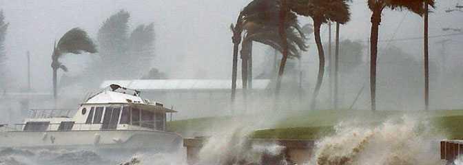 Naturkatastrofer toppar skräcklistan.