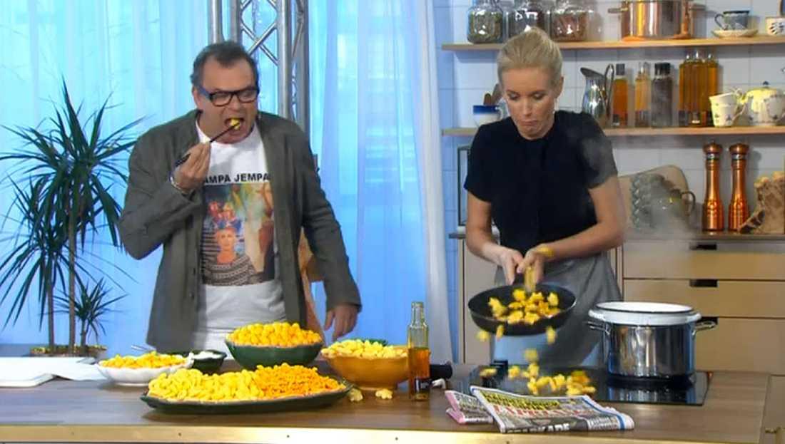 Steffo Törnqvist och Jenny Strömstedt.