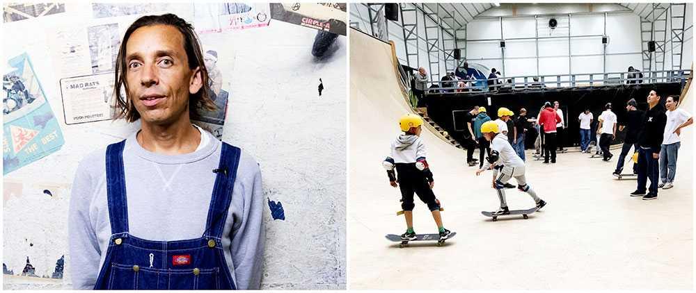 Viktor Telégin startade Stockholm Skate Nation för att hjälpa nyanlända ungdomar att komma in i samhället.