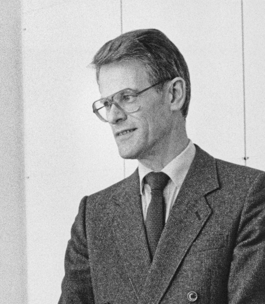Dåvarande statsminister Ingvar Carlsson gick segrande ur gränsförhandlingarna med Sovjet.