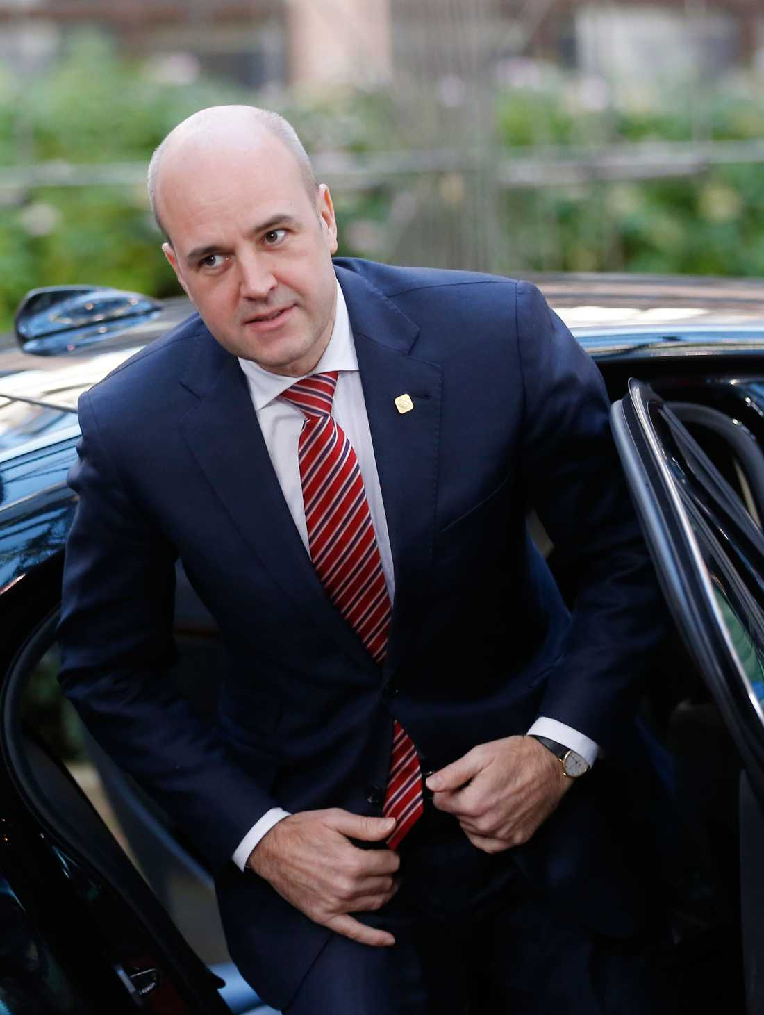 Fredrik Reinfeldt (M).