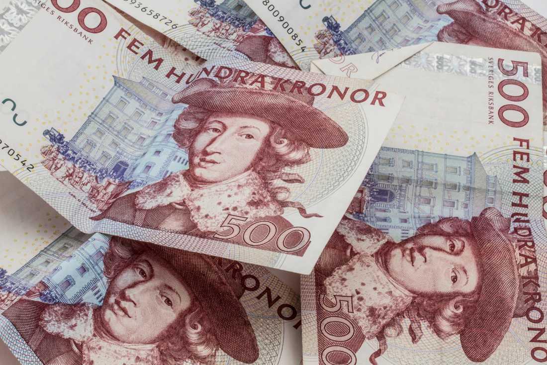 500-kronorssedeln är giltig till och med 30 juni 2017.