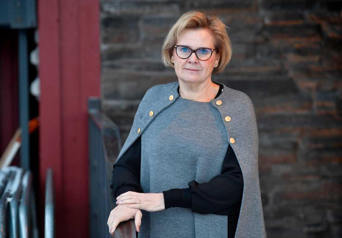 Riksåklagare Petra Lundh siktar på att anställa hundra nya åklagare på tre år. Arkivbild.