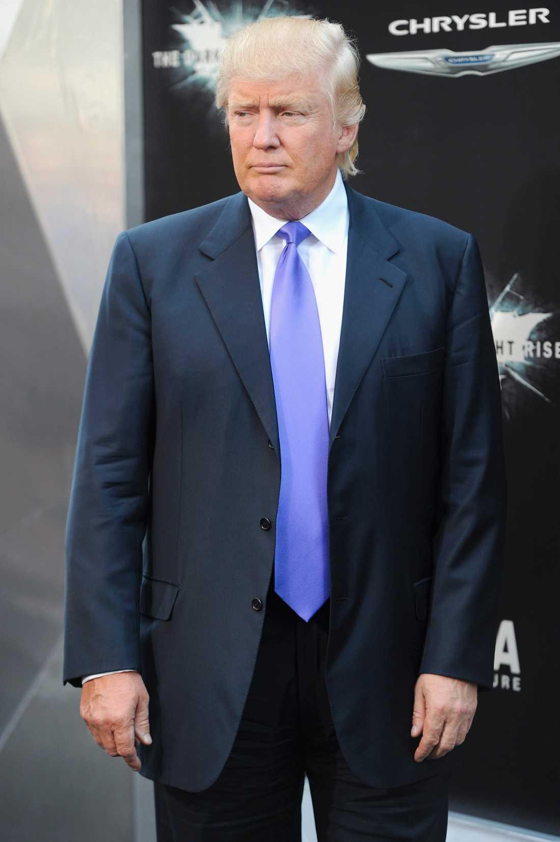 Liksom Donald Trump.