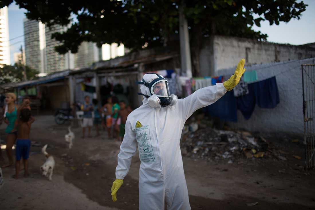 Brasilien tros vara ursprungslandet till smittan, uppger CNN.