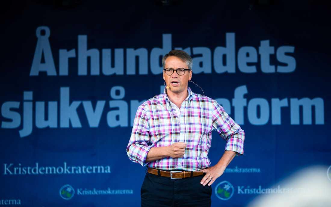 Göran Hägglund (KD) talar