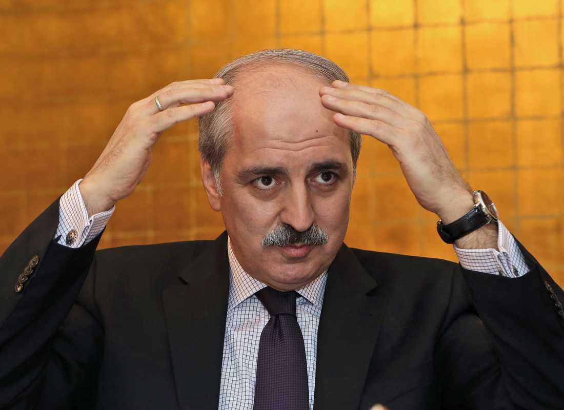 Numan Kurtulmus, Turkiets biträdande premiärminister.