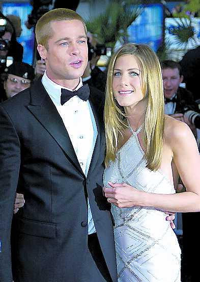 Brad och Jennifer – ett par 2004.