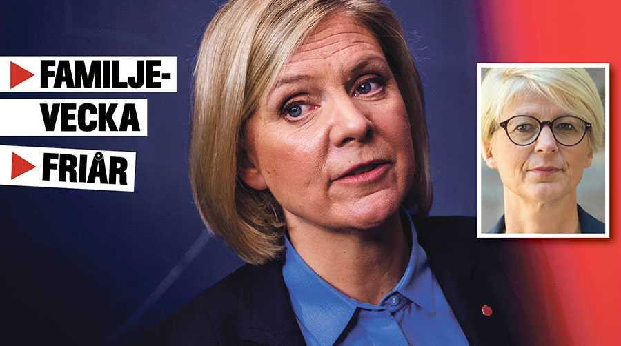 Sverige har inte råd med att slösa. Vi behöver jobba mer, inte mindre, skriver Elisabeth Svantesson.