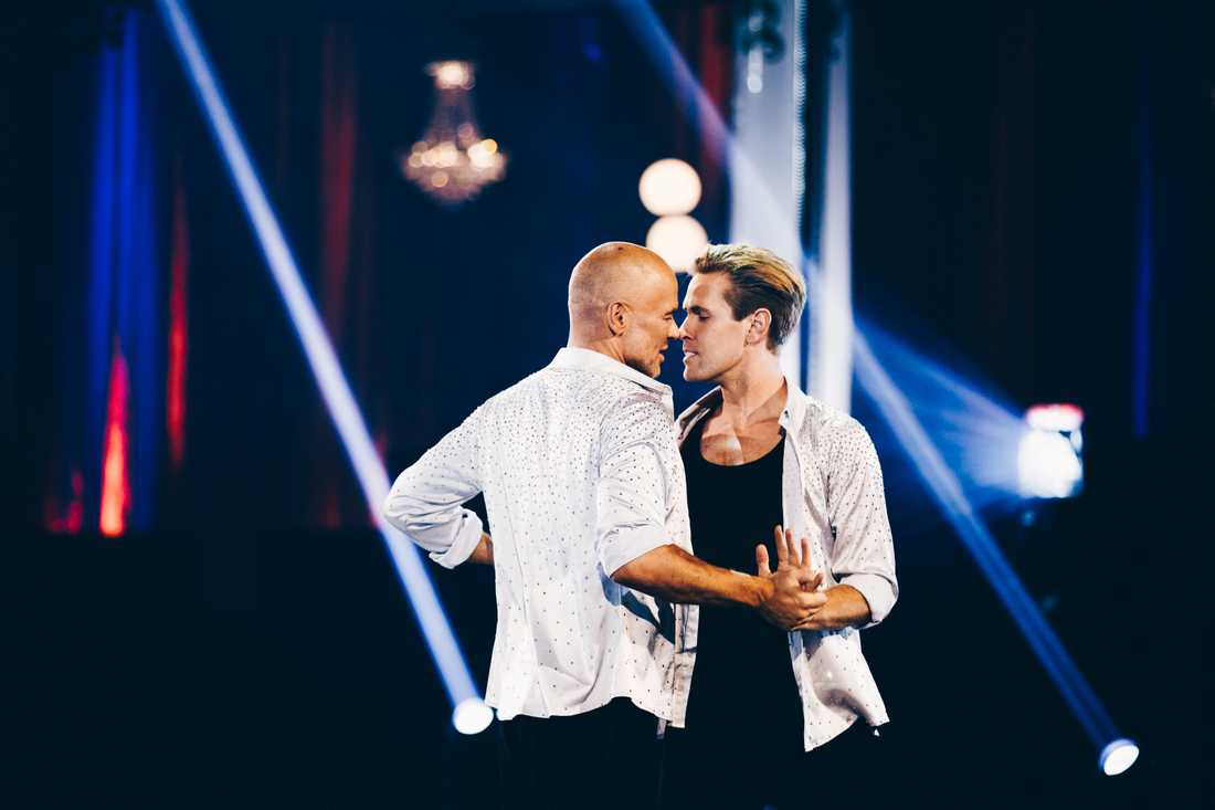 """Andreas Lundstedt åkte ur """"Let's dance"""". Pressbild."""