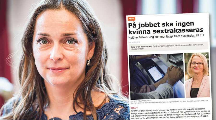 Jag tycker att det är särskilt oartigt att Heléne Fritzon förbiser de kvinnliga medlemmarna i den ungerska regeringen, skriver Adrien Müller.