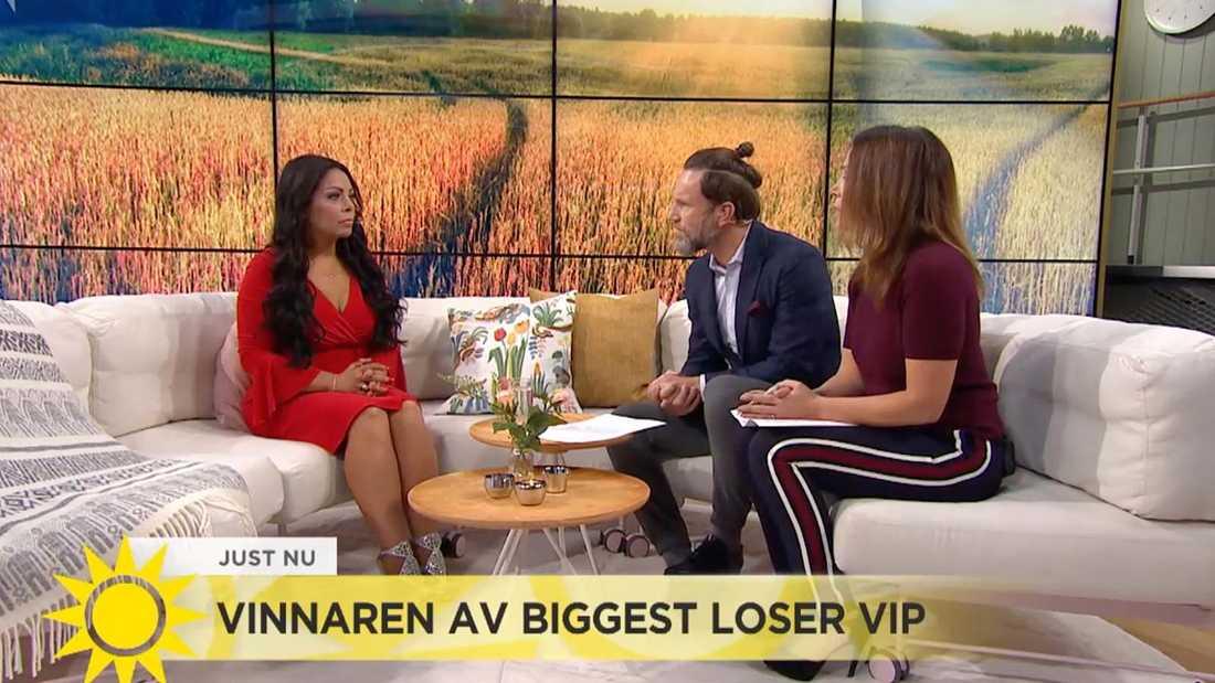 Anna Book i Nyhetsmorgon.