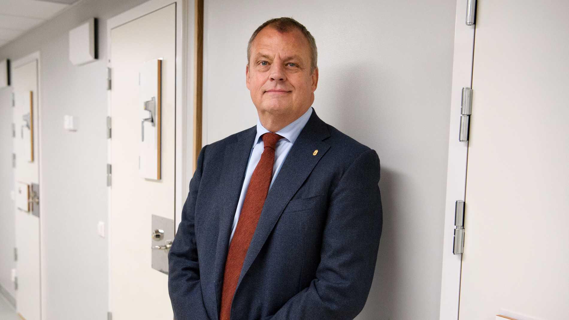Kriminalvården planerar att bygga ytterligare ett nytt slutet fängelse. Generaldirektör Martin Holmgren har precis fattat beslut att sätta i gång processen. Arkivbild.