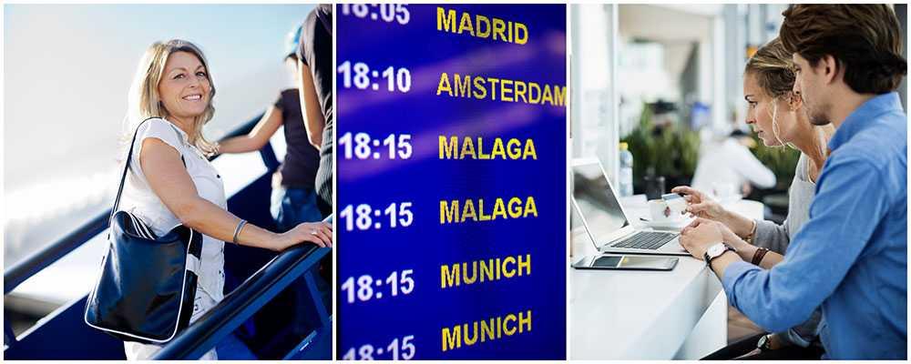 Boka din flygbiljett en lördag kväll för att få bästa pris.