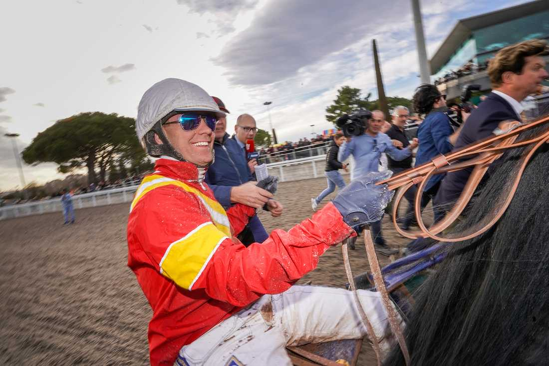 Björn Goop och Readly Express har vunnit Prix d'Amérique tillsammans, på lördag jagar de seger i Finlandia Ajo