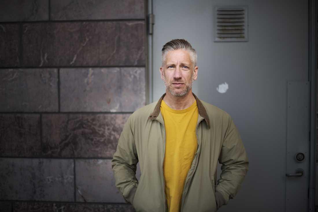 Peter Lind är chef för polisens yttre ungdomsgrupp.