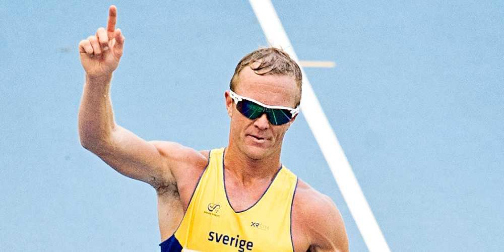 Andreas Gustafsson under friidrotts-VM i Moskva 2013.