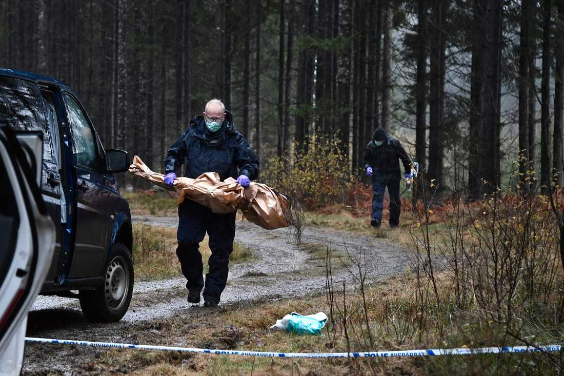 20-åringen mördade en 59-årig kvinna i motionsspåret i oktober förra året.