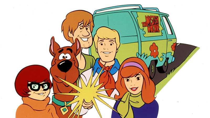 """Scooby Doo och """"Mystery Machine"""""""