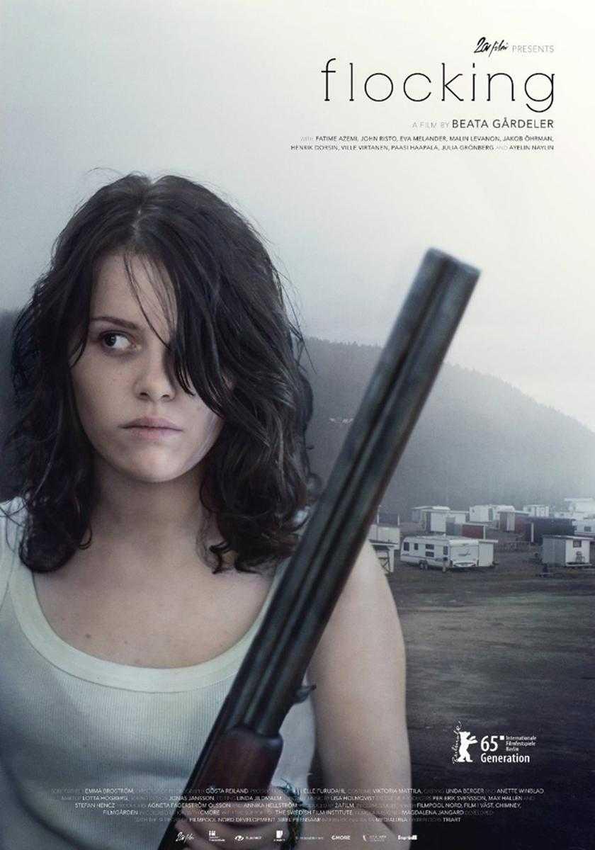"""För Slående lik verkligheten. Fatime Azemi spelar """"Jennifer"""" i filmen """"Flocken"""" som är märkbart inspirerad av våldtäkten i Bjästa."""