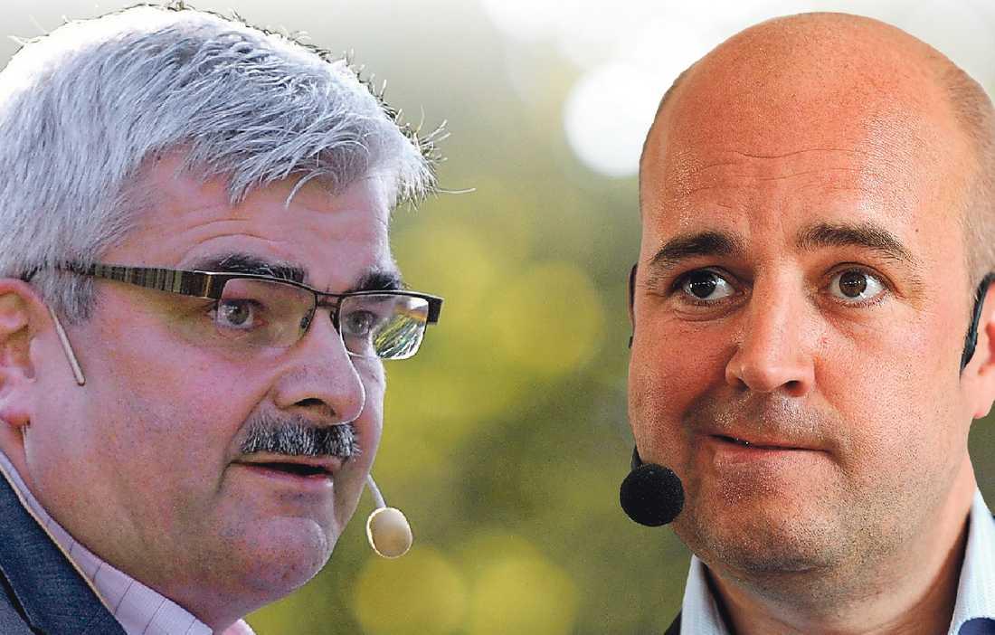 Säsongsstart Fredrik Reinfeldt är först ut med sitt sommartal i dag. I morgon är det Håkan Juholts tur.