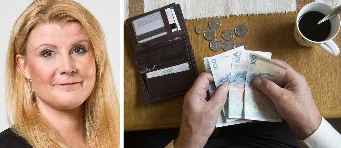 Monica Zettervall reder ut fördelarna respektive nackdelarna med att löneväxla.