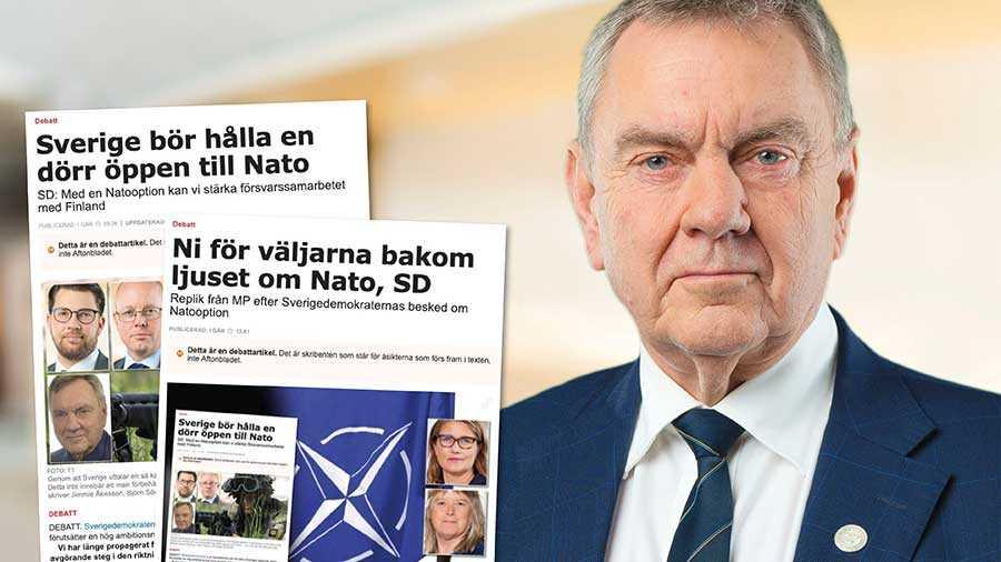 SD:s budskap är och förblir tydligt: Vi kommer inte att gå med i Nato utan att detta först förankras hos det svenska folket genom en folkomröstning. Därtill kommer en sådan folkomröstning inte att initieras utan att det samtidigt sker i Finland, skriver Roger Richthoff.