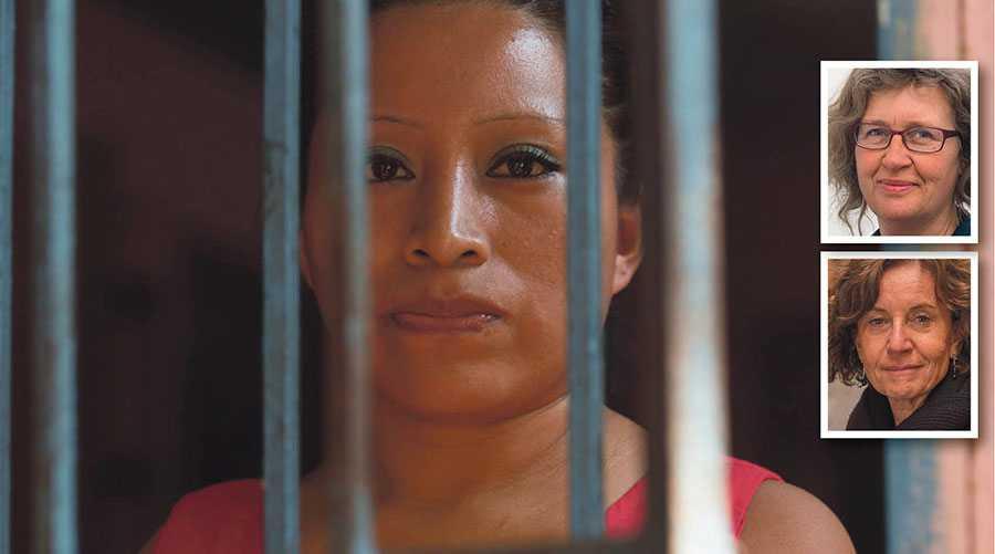 Under tiden i fängelset startade Teodora del Carmen Vásquez kampen för en ändrad abortlagstiftning i El Salvador. I dag tar hon emot Per Anger-priset i Stockholm.