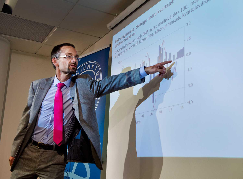 Jesper Hansson, prognoschef på KI.