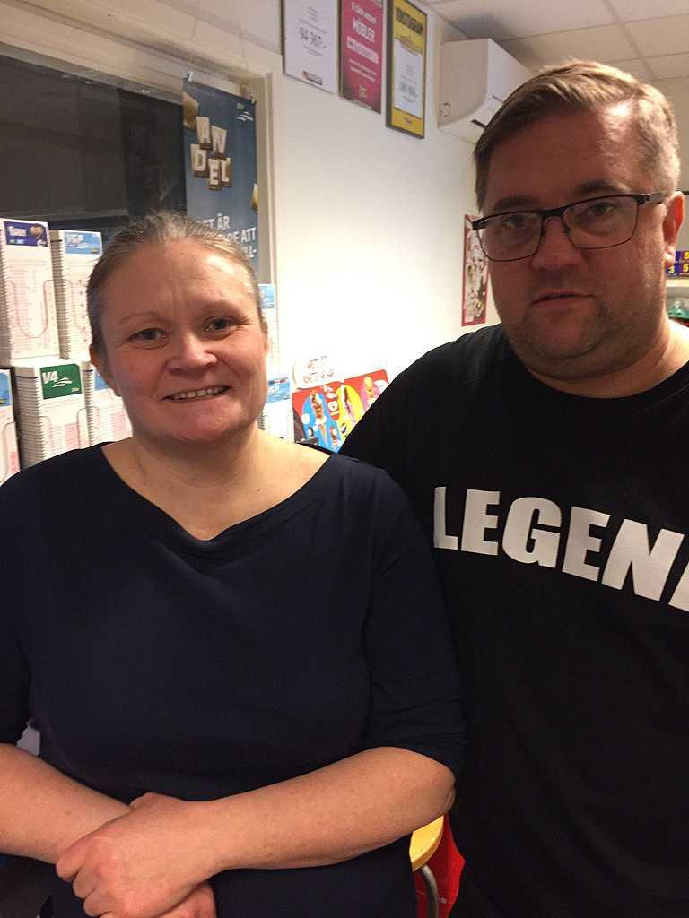Malin och Magnus Birgersson.