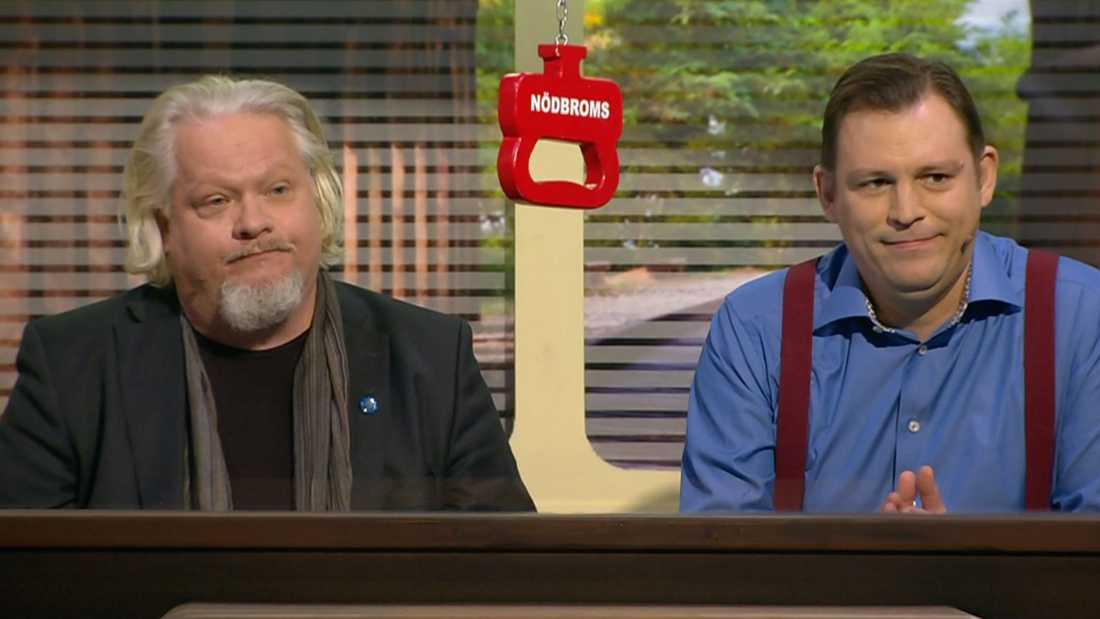 Kjell Wilhelmsen och Eric Ericson.