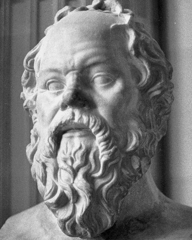Greker – här Sokrates.