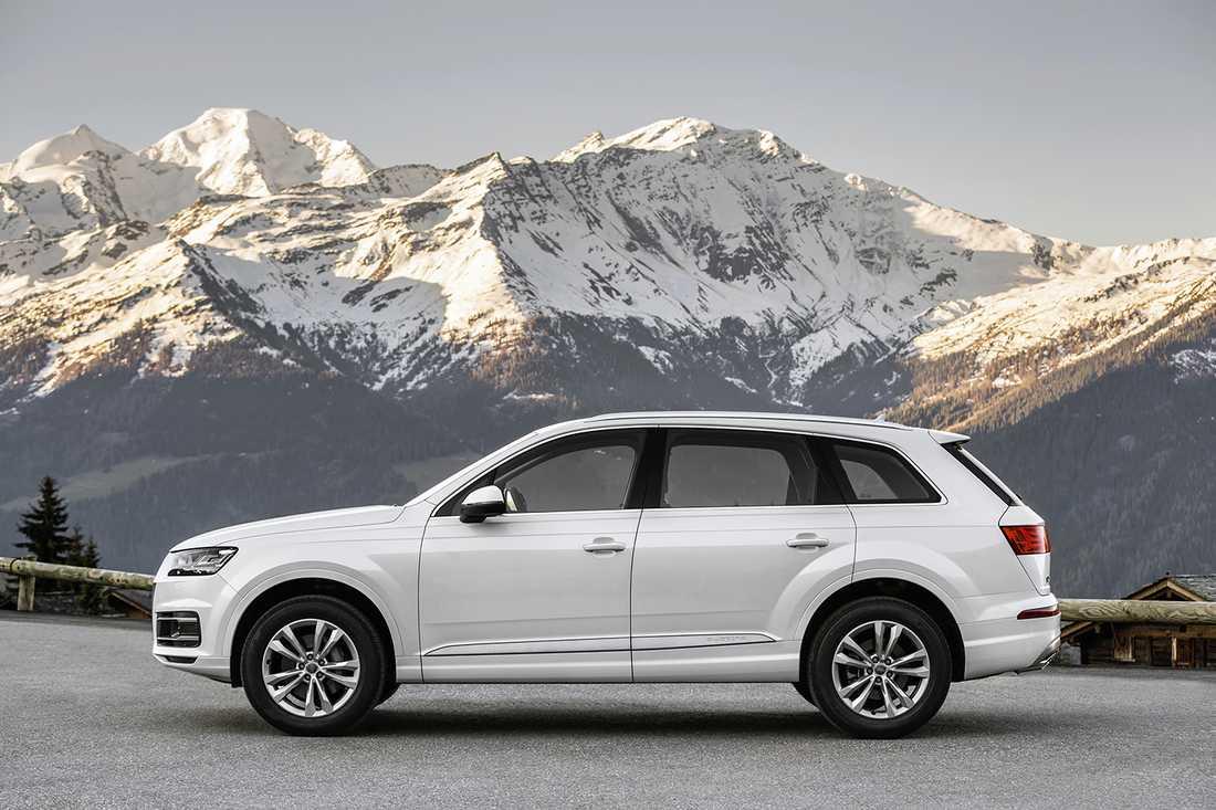 Nya VW-suven bygger på samma plattform som Audis Q7:a, dock lär det vara en markant skillnad på prislapp mellan de båda bilarna.