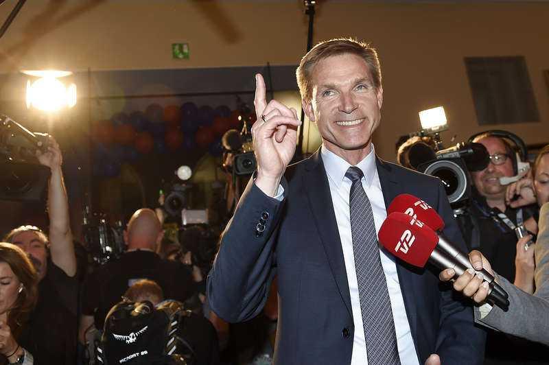 Valets stora vinnare blev Kristian Thulesen Dahl och hans Dansk folkeparti som ökade med 8,8 procentenheter jämfört med valet 2011.