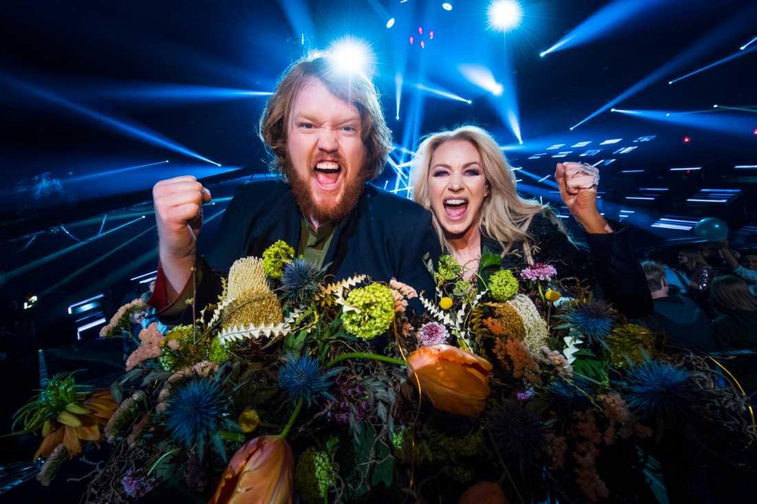 Martin Almgren och Jessica Andersson.