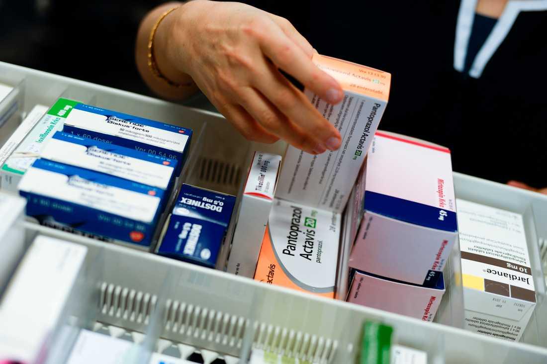 Läkemedelsverket ska se till att information om restnoterad medicin sprids snabbare. Arkivbild.