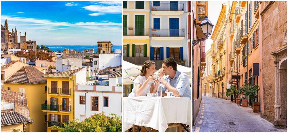 Missa inte de här härliga platserna i Palma på Mallorca.