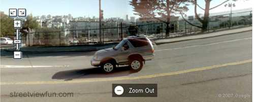 ...eller är detta kanske världens minsta bil?