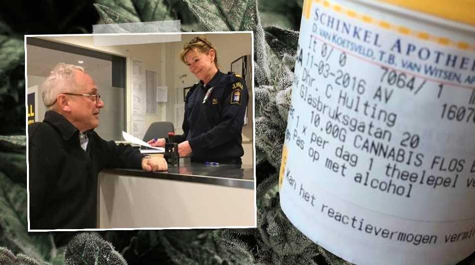 Min önskan var aldrig att smuggla in 10 gram cannabis, skriver läkaren och Claes Hultling. Han är själv förlamad från bröstet och nedåt. Nu driver han en egen rättsprocess för att få rätt att använda cannabis för att lindra nervsmärtan.