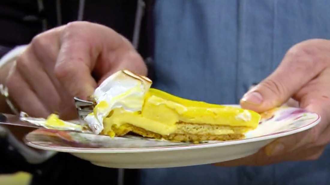 Pers påsktårta föll inte juryn i smaken.