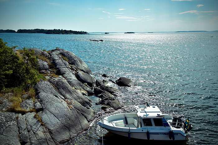 Sveriges skärgårdar sträcker sig från norr till söder.