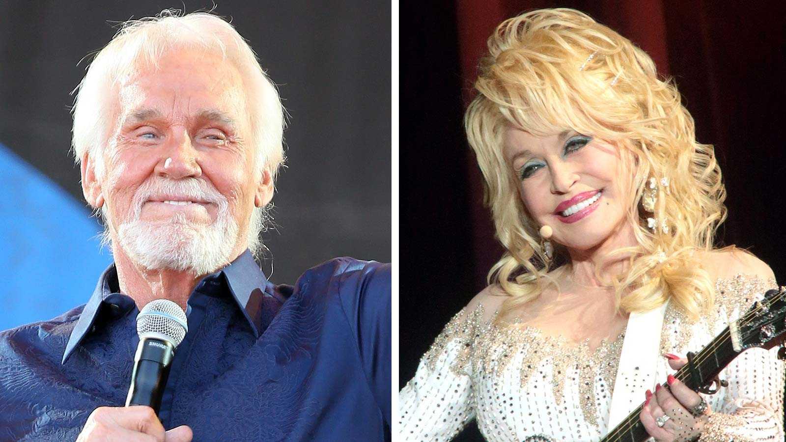 Kenny Rogers avskedskonsert i Nashville - Dolly Parton ...