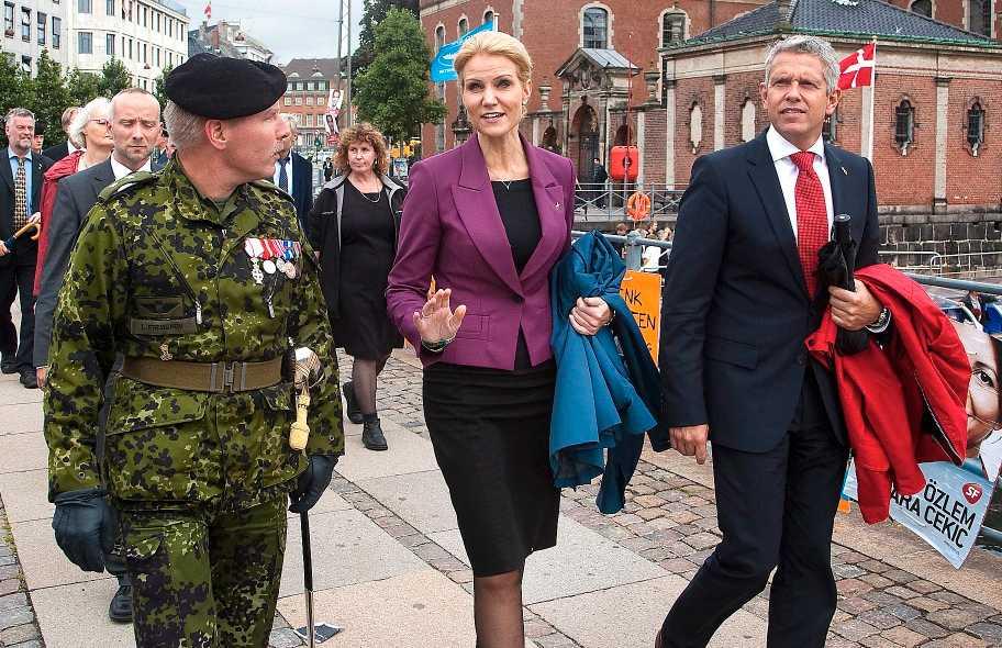 PÅ VÄG MOT MAKTEN Helle Thorning-Schmidt kan snart vara Danmarks nästa, och första kvinnliga, statsminister.